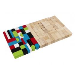Træklodser  wooden block set
