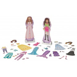 Påklædnings manniquiner magnetic dolls - trends & fairytale
