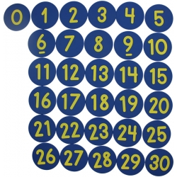 Markeringsbrikker DANSK / Alfabet
