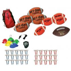 Midas/Wilson Flagfootball sæt