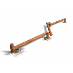 3 Balancebomme linje