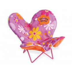 Groovy Relaxed butterfly chair